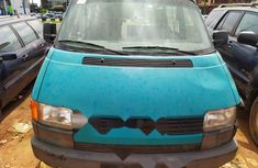 Foreign Used Volkswagen Transporter 1998 Model Green
