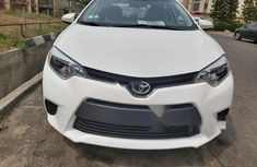 Foreign Used Toyota Corolla 2015 Model White