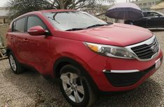 Foreign Used Kia Sportage 2013 Model Red