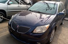 Foreign Used 2004 Blue Pontiac Vibe for sale in Lagos