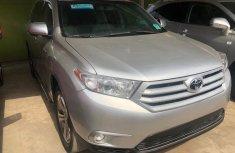 Foreign used Toyota Highlander 2013