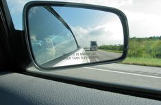 How to use side mirrors correctly when switching lanes
