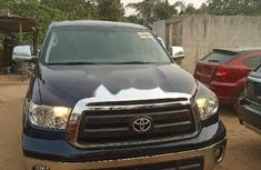 Foreign Used Toyota Tundra 2011 model Blue