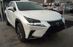 Foreign Used Lexus NX 2019 Model White