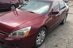 Well Maintained Nigerian Used Honda Accord 2006 V6 Engine