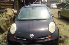 Foreign Used Nissan Micra 2002 Model Black