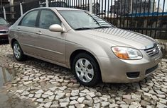 Foreign Used Kia Spectra 2007 Model Gold