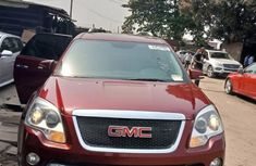 Foreign Used GMC Canyon 2010 Model Red