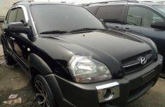 Foreign Used Hyundai Tucson 2007 Model Black