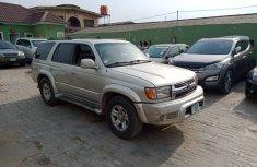 Nigerian Used Toyota 4runner 2001 Model