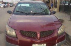 Nigeria Used Pontiac Vibe 2004 Model Red