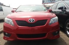 Red Toyota Camry Sports 2010 Model Direct Tokunbo