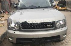 Nigeria Used Land Rover Range Rover Sport 2011 Model Silver