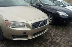 Foreign Used Volvo S80 2007 Model Silver