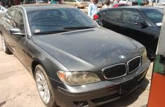 Foreign Used BMW 7 Series 2007 Model Gray