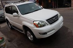 Foreign Used 2004 White Lexus GX V8 for sale in Lagos