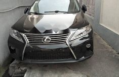 Foreign Used Lexus RX 2014 Model Black