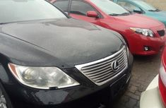 Foreign Used Lexus LS 2007 Model Black