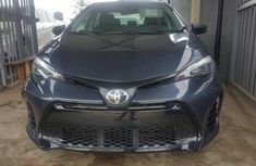Foreign Used Toyota Corolla 2015 Model Gray