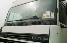 Foreign Used DAF 95 2001 Model White