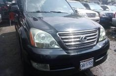 Foreign Used 2005 Black Lexus GX for sale in Lagos