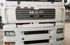 Foreign Used Man TGA 2005 Model White