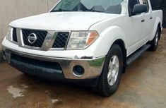 Foreign Used Nissan Frontier 2006 Model White