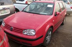Foreign Used 2003 Red Volkswagen Golf for sale in Lagos