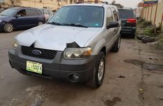 Locally Used 2005 Silver Ford Escape for sale in Lagos