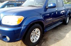 Foreign Used Toyota Tundra 2006 Model Blue