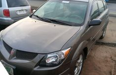 Locally Used 2005 Grey Pontiac Vibe for sale in Lagos.