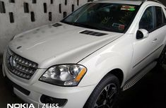 Foreign Used Mercedes-Benz ML350 2009 Model White