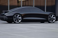 See the all-electric Hyundai Prophecy with suicide doors and joysticks as steering wheel