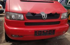 Foreign Used Volkswagen Caravelle 2003 Model Red