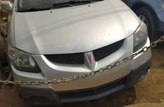 Foreign Used Pontiac Vibe 2004 Model Silver