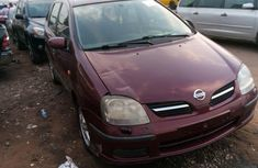 Foreign Used 2005 Wine colour Nissan Almera for sale in Lagos