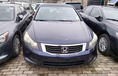 Foreign Used 2008 Blue Honda Accord for sale in Lagos