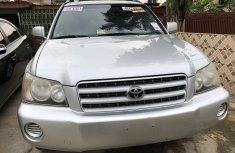 Super Clean Foreign Used Toyota Highlander 2002 Model