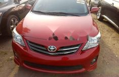 Foreign Used Toyota Corolla 2011 Model Red