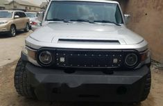 Foreign Used Toyota FJ CRUISER 2007 Model Silver