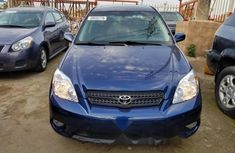 Foreign Used Toyota Matrix 2008 Model Blue