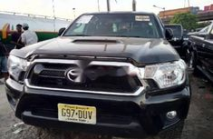 Foreign Used Toyota Tacoma 2013 Model Black