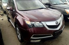 Foreign Used Acura MDX 2010 Model Red