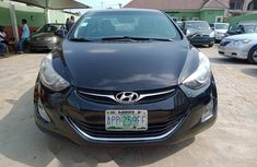 Nigeria Used Hyundai Elantra 2012 Model Black