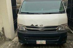 Nigeria Used Toyota HiAce 2012 Model White