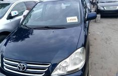 Foreign Used Toyota Avensis 2005 Model Blue