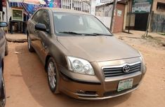 Locally Used 2007 Brown Toyota Avensis for sale in Lagos.