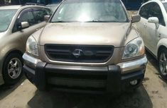Foreign Used Honda Pilot 2003 Model Gold