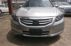 Foreign Used Honda Accord 2011 Model Silver