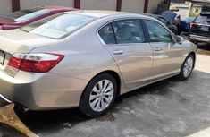 Foreign Used Honda Accord 2013 Model Gold